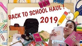 BACK TO SCHOOL HAUL 2019 | PHILIPPINES | (SM DEPT. SALE) grasya's vlog!