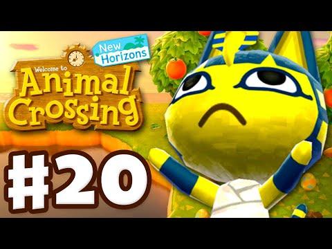 Meeting Ankha On An Island! - Animal Crossing: New Horizons - Gameplay Walkthrough Part 20