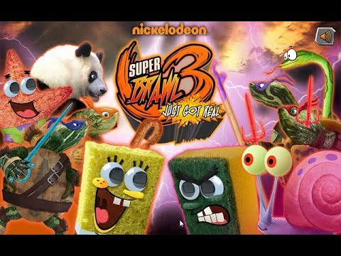 Spongebob Squarepants Super Brawl Just Got Real 3 - Cartoon Movie Game Spongebob