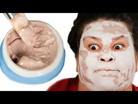 Thumbnail: We Test Out Pink Clay Masks