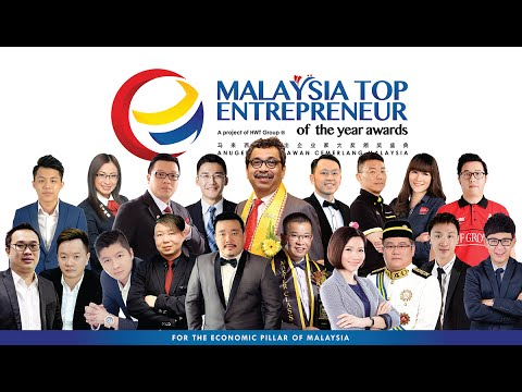 Malaysia Top 20 Entrepreneurs of the year Awards 2016
