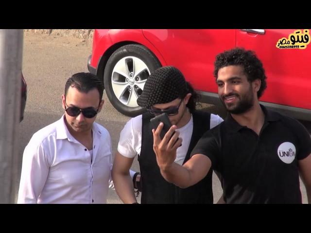 لحظه وصول عبسلام حفله جامعه مصر للعلوم والتكنولوجيا شوف رد فعل الشباب