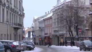 The City of Vilnius, Lithuania - 20th January, 2013 thumbnail