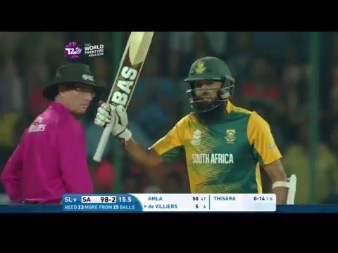 ICC #WT20 South Africa v Sri Lanka - Match Highlights