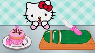 Download Video Baby Learn Cooking With Hello Kitty Lunchbox - Kids Play Fun Kitchen Game MP3 3GP MP4