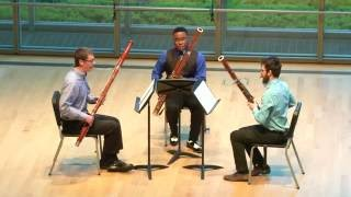 6 Pieces for 3 Bassoons