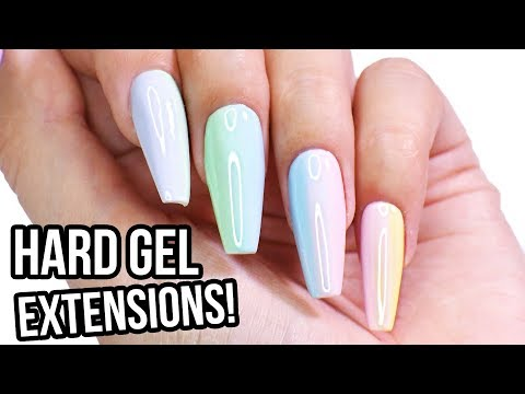 Hard Gel Nail Extensions: Step by Step How-To Tutorial