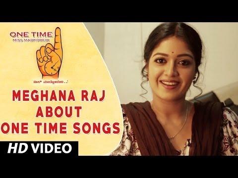 One Time Kannada Movie || Meghana Raj Wishing One Time Movie team || Tejus, Neha Saxena