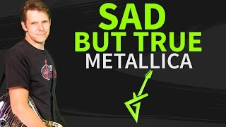 How To Play Sad But True Guitar Lesson #1 Metallica