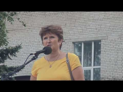 РФ - ЭТО ЗОНА (Митинг г. Кадуй, против повышения пенсионного возраста, 27 июля 2018г.)