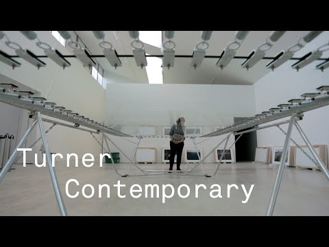 Risk exhibition at Turner Contemporary with subtitles