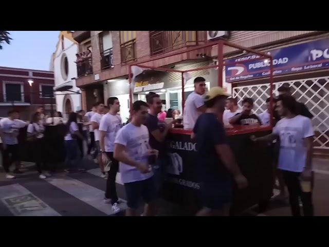 Peña A vaso regalado no le mires el grado - Fiestas del Vino Valdepeñas 2017