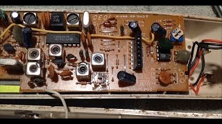 Vintage Cordless Phone: Repair antenna and replace battery