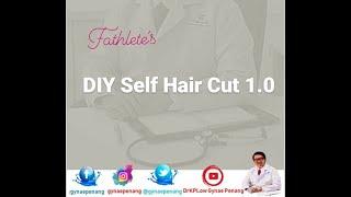 GYNAE PENANG: Sunday DIY Self HairCut PART 1