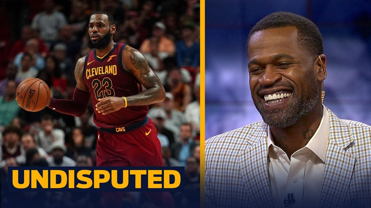 a29034e1c33b Stephen Jackson reacts to LeBron saying he would vote for himself for NBA  MVP