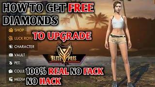 HOW TO ADD 400 IN FREE FIRE GAME TO UPGRADE ELITE PASS || HOW TO GET FREE DIAMOND 100℅ REAL NO FACK
