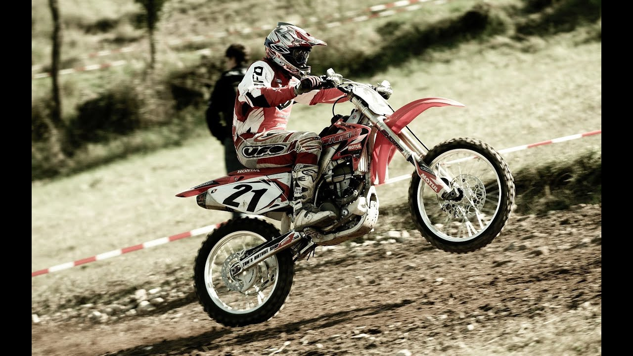 balade moto cross 125 yz youtube