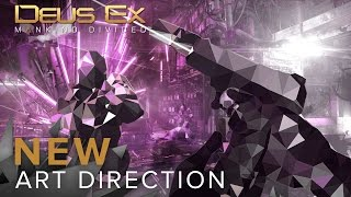 Deus Ex: Mankind Divided - New Art Direction