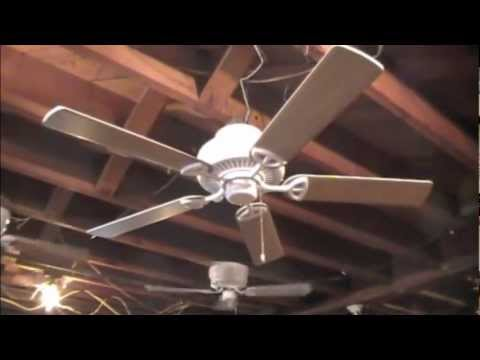 Hampton bay farmington ceiling fan youtube hampton bay farmington ceiling fan mozeypictures Images