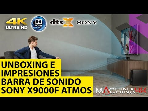 Sony X9000F Análisis y Unboxing. Estamos ante la mejor barra de sonido económica con Dolby Atmos?