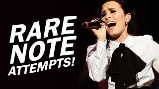 Demi Lovato - LEAST Attempted High Notes! (Live)
