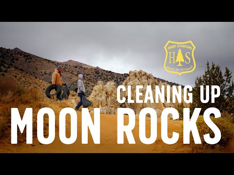 Friends of Moon Rocks Cleanup Day