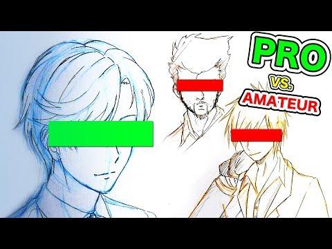 Japanese PRO vs. AMATEUR Bishonen!