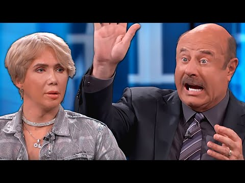 Dr Phil vs Oli London Who Paid $150,000 to look like BTS Jimin | React Couch