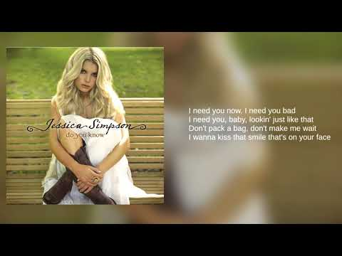 Jessica Simpson: 01. Come On Over (Lyrics)