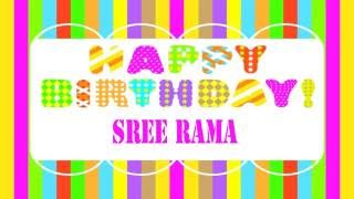 SreeRama   Wishes & Mensajes - Happy Birthday