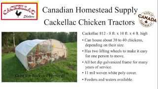 Cackellac Chicken Tractors - Portable Chicken Coops