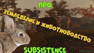 Subsistence - про Земледелие и Животноводство | ВЫЖИВАНИЕ В СТИЛЕ RUST