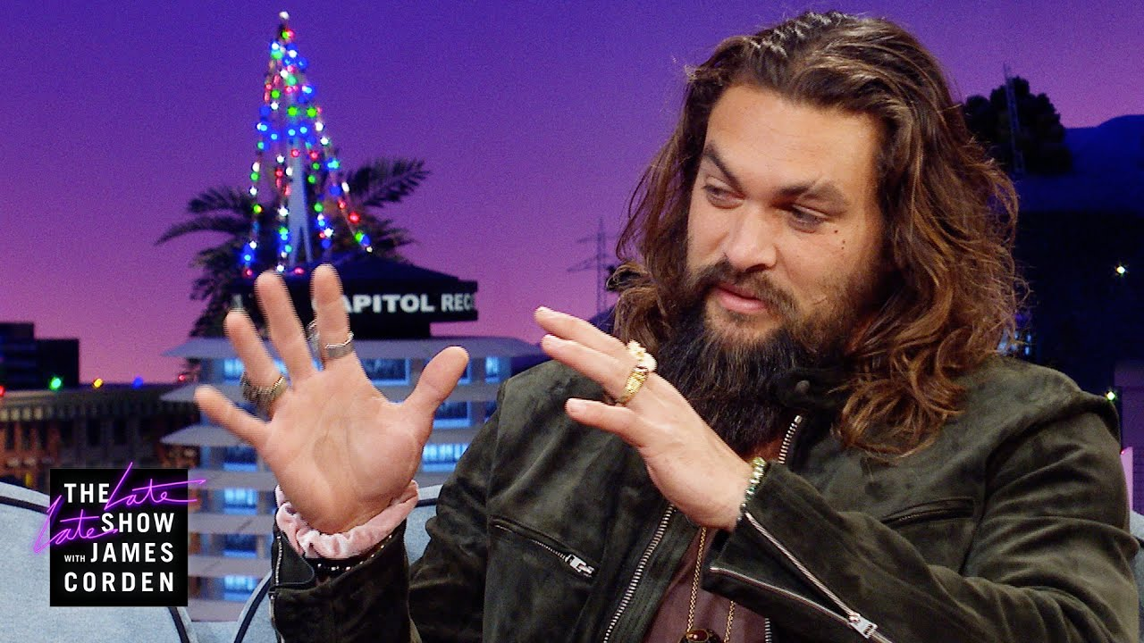 Jason Momoa Brought His Haka to the 'Aquaman' Carpet