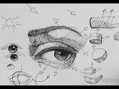 Pen ink drawing tutorials how to draw a realistic eye part 2 pen ink drawing tutorials how to draw a realistic eye part 2 ccuart Image collections