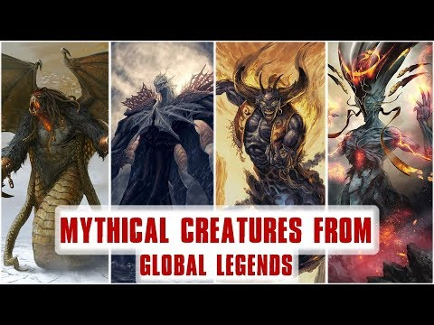 15 Powerful Mythical Monsters from Around the World