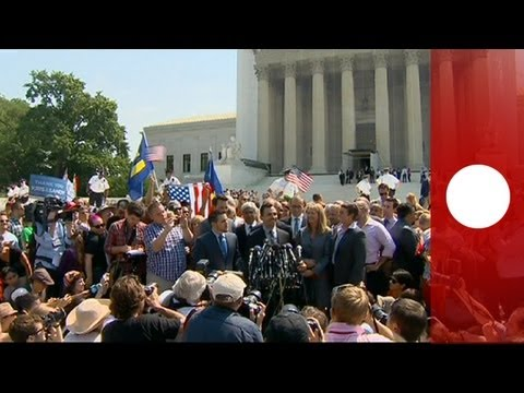 Historic decision on gay rights in US