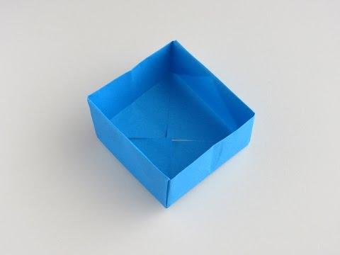 Origami Box (with audio)