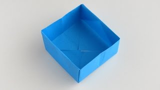 Origami Box (with audio)