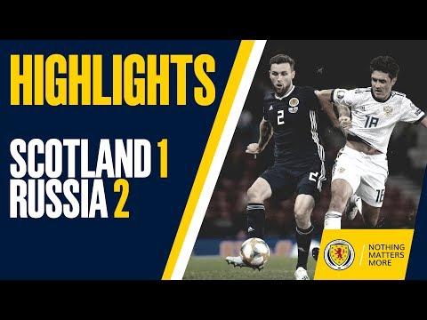 HIGHLIGHTS   Scotland 1-2 Russia