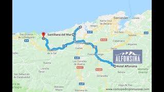 Cantabria en coche: Ruta Suances, Santillana del Mar y Comillas