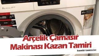 Arçelik 8123 h Çamaşır Makinesi Kazan Düşmesi ve Kazan Tamiri Canlı Canlı #fatihbankı