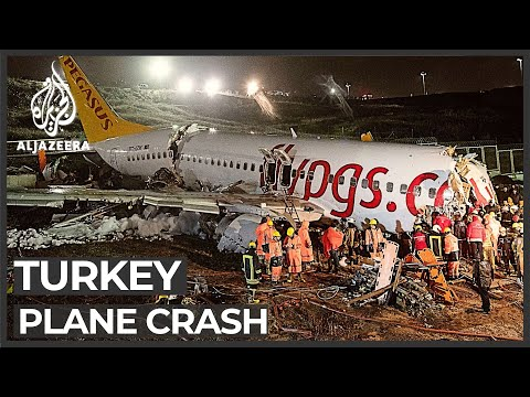 Three dead, many injured as plane skids off Istanbul runway
