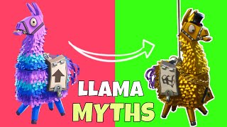 Fortnite - STOP MOVING! | DOES WAITING FOR A LLAMA TO STOP GIVE BETTER LOOT? | Llama Opening