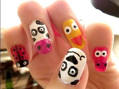 Uñas Animales Animals Nails Youtube