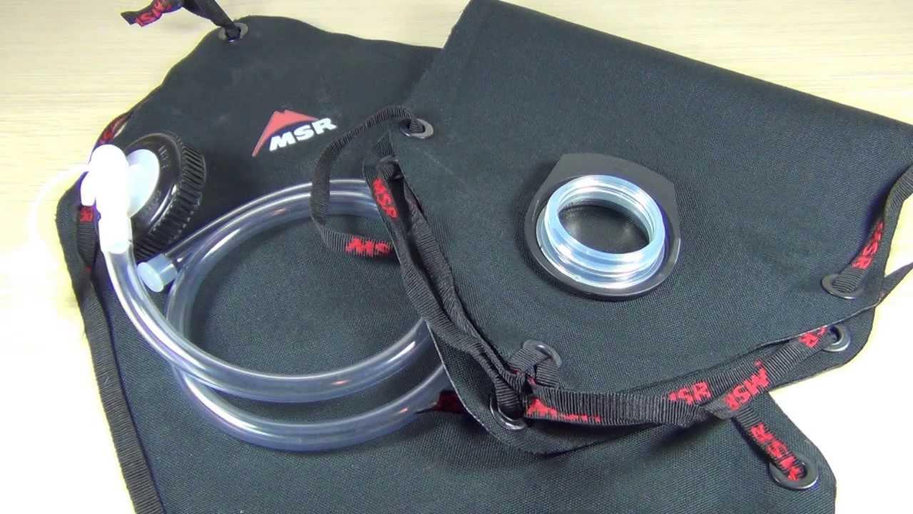 Msr Dromedary Bags And Shower Kit By Gear Stuff
