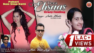 Tera Ehsaas Crazy Feeling   Non Stop Pahari Natti   Amita Khimta