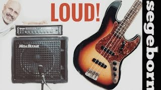 fender jazz bass and big block at full volume for that vintage hard rock tone