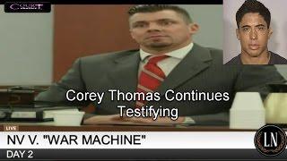 War Machine Trial  Day 2 Part 1 03/07/17