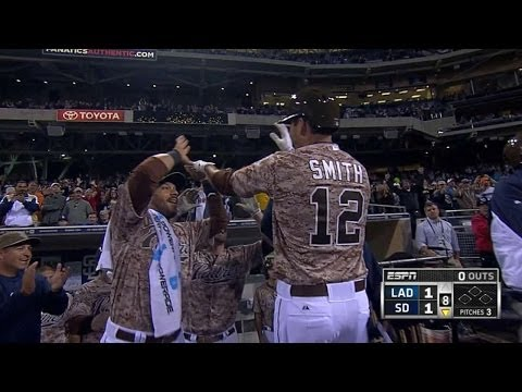Padres use power and small ball to take lead