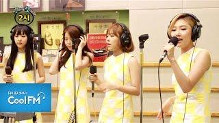 """마마무 MAMAMOO """" Love me 러브미 """" 라이브 LIVE / 140717[조정치&장동민2시]"""